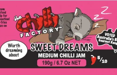 The Chilli Factory Sweet Dreams Medium Chili Jam Sauce