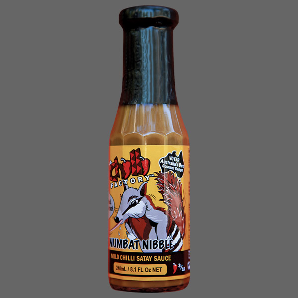 Numbat Nibble MILD Chilli Satay Sauce