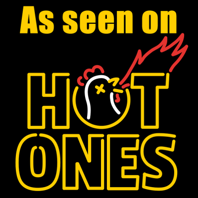 As seen on Hot Ones - 600