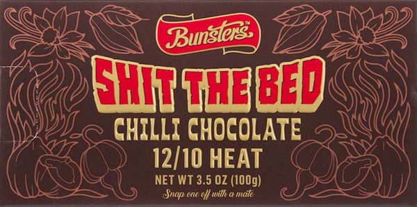 Shit The Bed Chilli Chocolate
