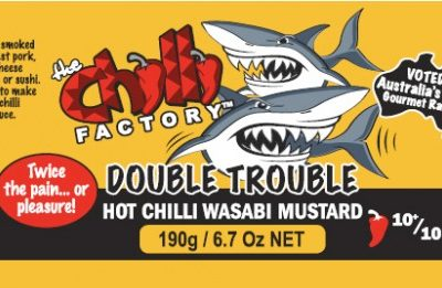 Double Trouble Hot Chilli Wasabi Mustard Nutritional Info