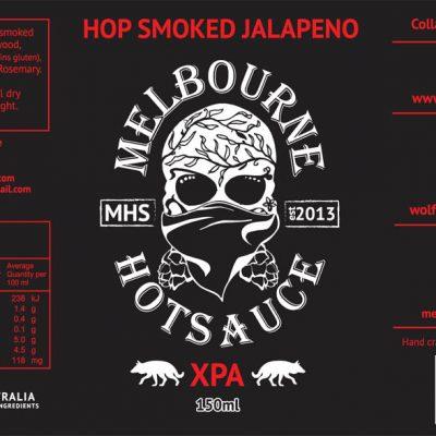Hop Smoked Jalapeno - Label