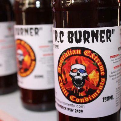 RC Burner - closer