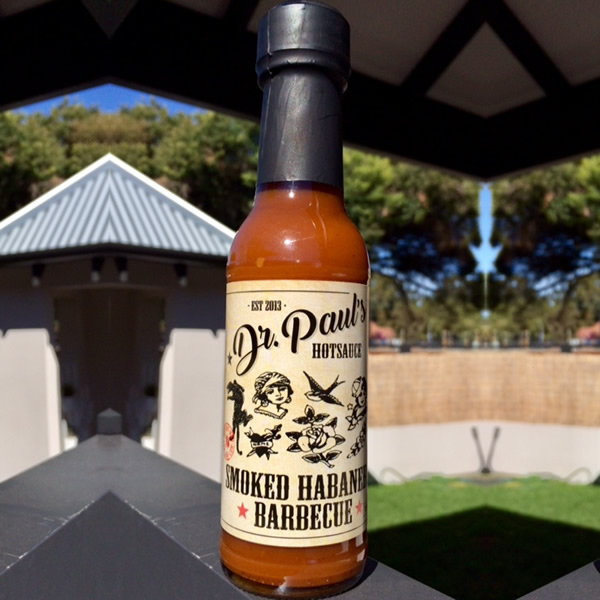 Smoked Habanero Barbecue - Dr Paul's Hot Sauce