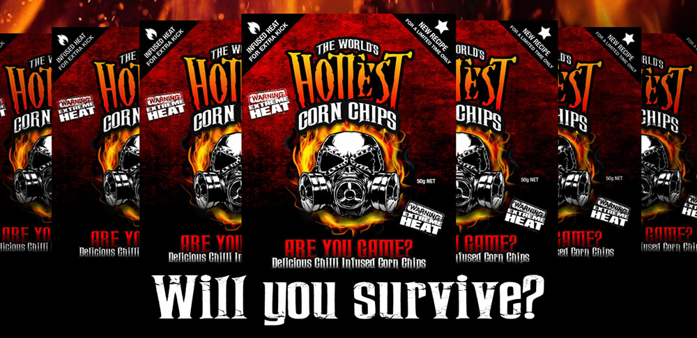 World's Hottest Corn Chips